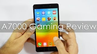 Lenovo A7000 Gaming Review with HD Games & FAQ