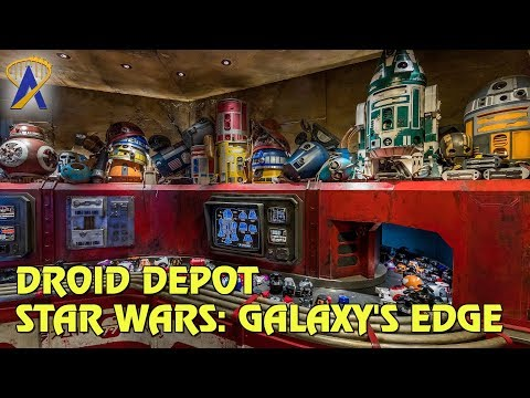 Droid Depot - Custom Droid Building at Star Wars: Galaxy's Edge
