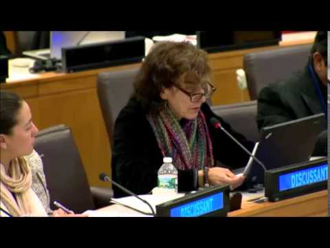 Ms. Norine Kennedy - U.S. Council for Intl. Business - Post-2015 Stakeholder Preparatory Forum