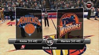 NBA 2K8 - Knicks vs Warriors