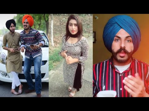 Latest Punjabi Songs/ Viral Tiktok Videos/ Famous Punjabi Tiktok Stars/ Best Musically Videos !