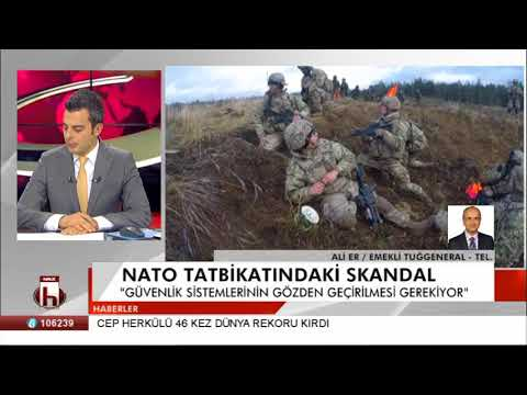 Nato tatbikatındaki skandal - Ali ER Emekli Tuğgeneral tel.
