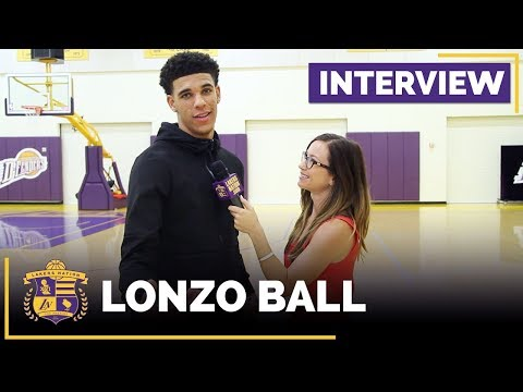 Lonzo Ball Interview With Lakers Nation