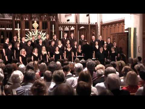 Trinity College Choir - Long Ago (arr Ken Naylor) - Atlanta, USA