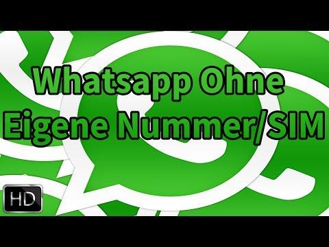 Whatsapp ohne Nummer/SIM nutzen [Deutsch/Full-HD]
