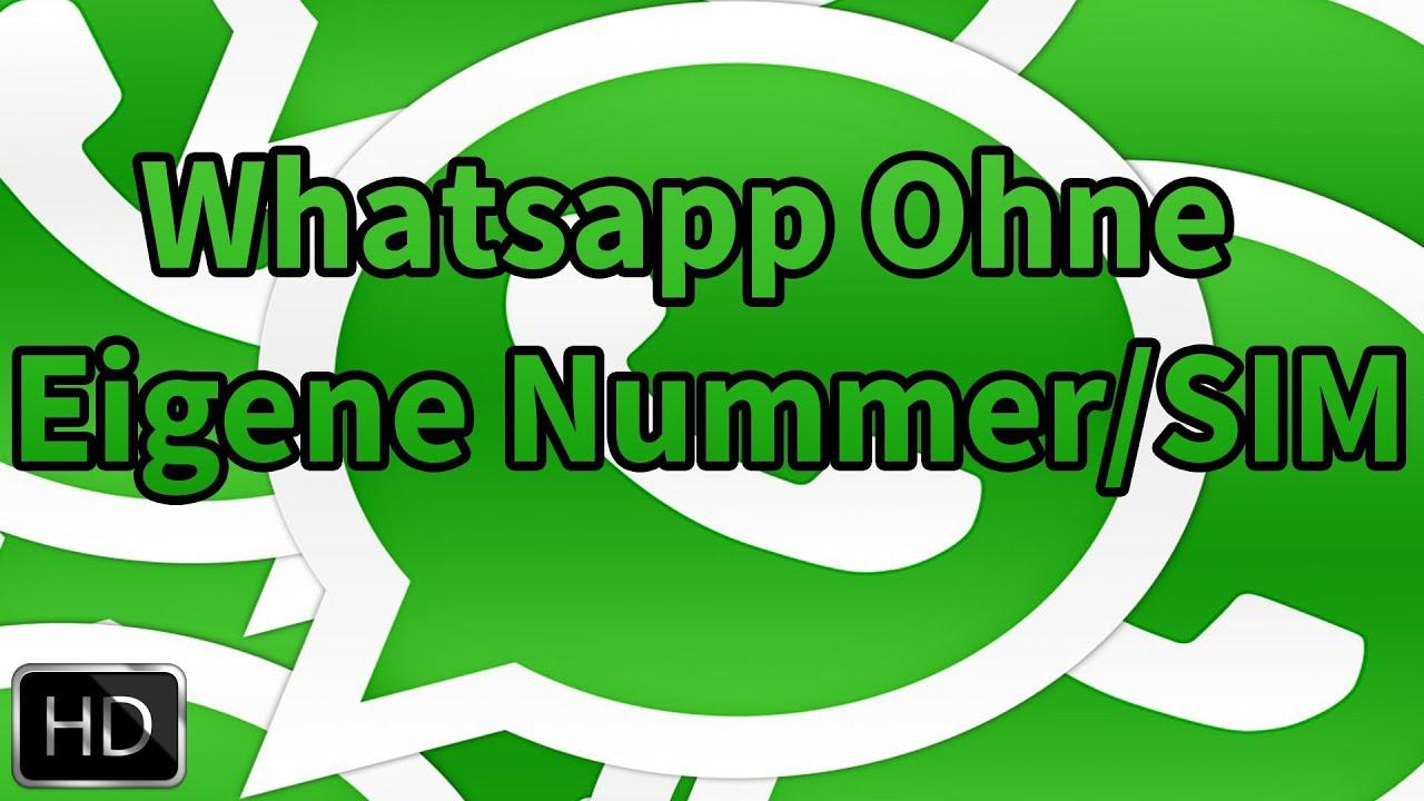 whatsapp ohne handy