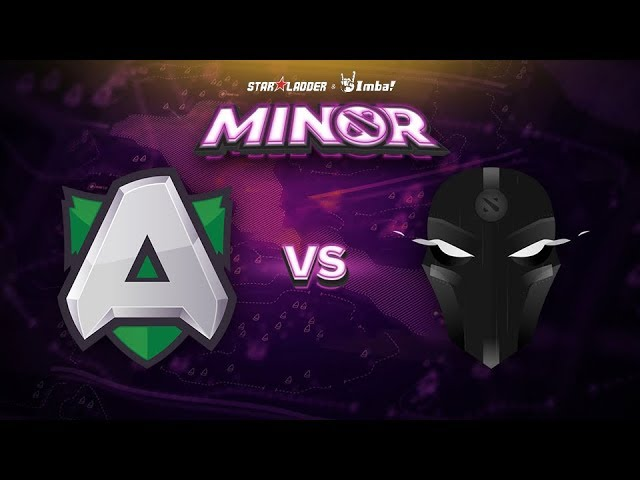 Alliance vs The Final Tribe Game 2 - SL ImbaTV Minor EU Qualifier: Losers' Finals