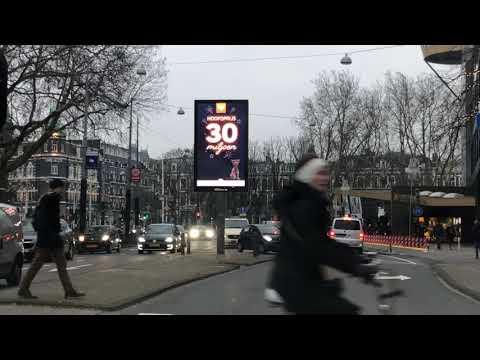 Digitaal billboard Amsterdam