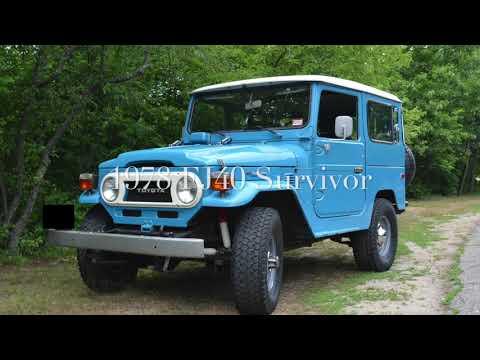 1978 Blue FJ40 Survivor