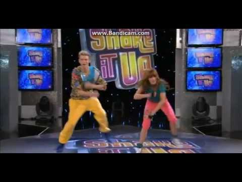 Bella Thorne dancing with Kenton Duty on Shake It Up