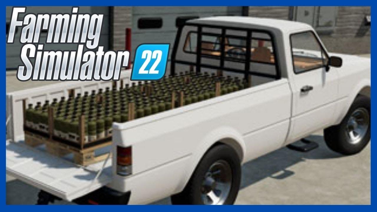 Todos os produtos e Fábricas do FARMING SIMULATOR 22