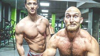 Lauch drückt 100 Kg! Brust Workout mit Papa & Max