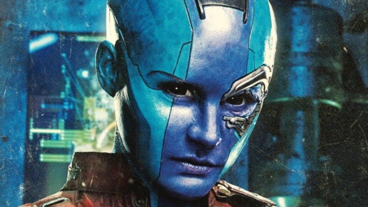 How Karen Gillan Transformed Into Nebula