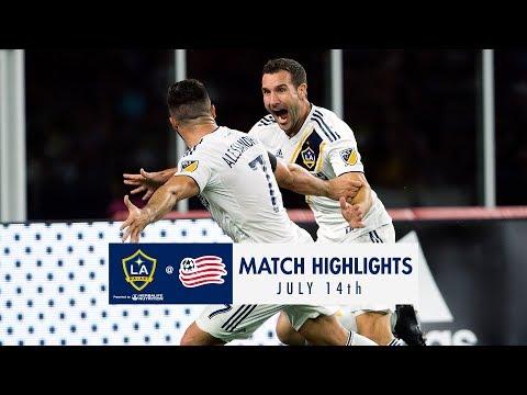 HIGHLIGHTS: New England Revolution vs. LA Galaxy | July 14, 2018