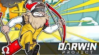 MAN VS NUKE, WINTER SURVIVAL ROYALE! | Darwin Project Multiplayer Survival / Battle Royale