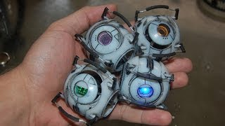 Portal 2 Personality Core/Sphere Figures (Wheatley, Space, Adventure/Rick, Fact)