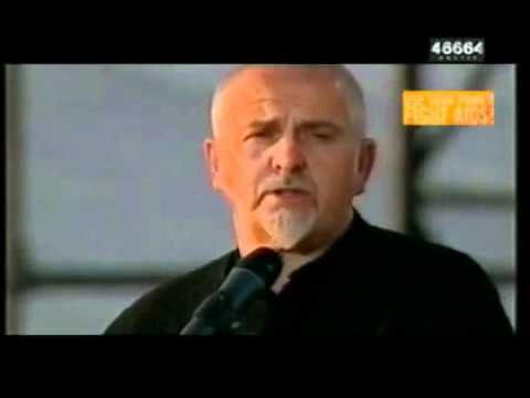 Peter Gabriel - Father Son (46664 Arctic 2005)