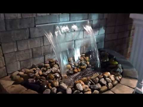 Como instalar agua para una cascada funnycat tv for Fuente cascada agua