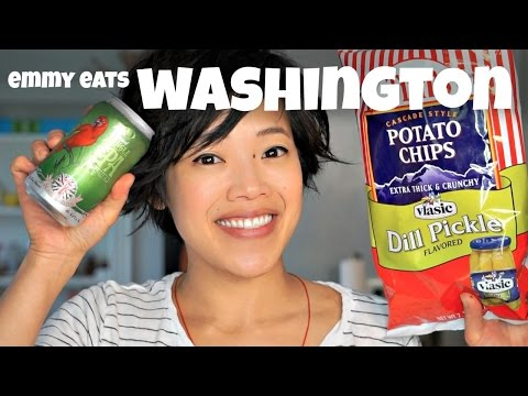 Emmy Eats Washington State - Pacific Northwest Taste Test