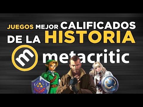 Los 5 juegos mejor calificados en la historia de Metacritic