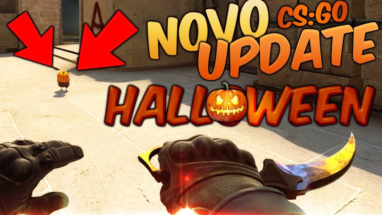 Novo Update Cs Go Halloween Youtube