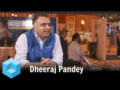 Dheeraj Pandey, Nutanix - #NEXTConf 2016 #theCUBE
