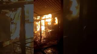 Пожар в Караколе