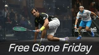 Squash: Free Game Friday - Shabana v Elshorbagy - Tournament of Champions 2015