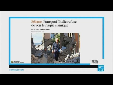 'Why does Italy refuse to see the seismic risk?'