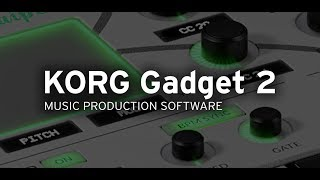 Korg Gadget 2, Taipei : Midi Out First Impressions