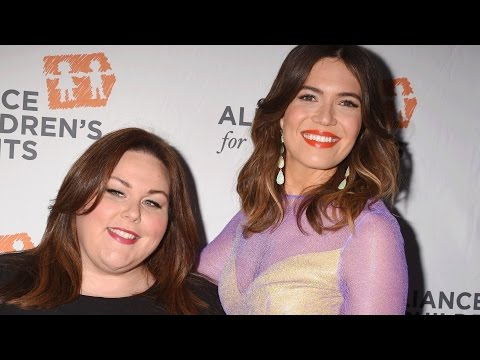 Mandy Moore and Chrissy Metz are down for a mother-daughter duet