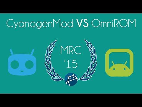 CyanogenMod VS OmniROM [Sedicesimi MRC 2015]
