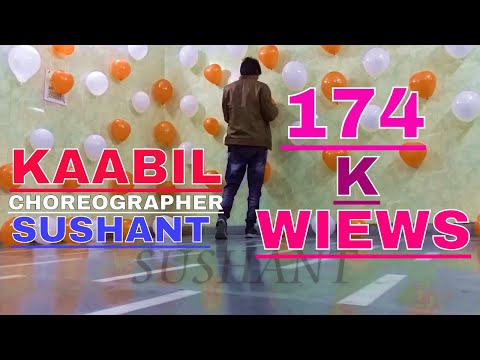Thumbnail: Best Dance video Kaabil hoon song from movie @Kaabil choreographed by sushant must watch