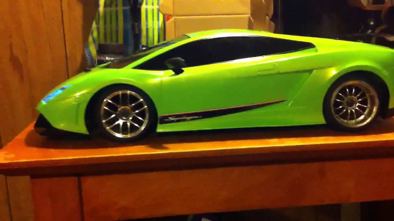 Hpi Sprint Drift Custom Lamborghini Gallardo Hard Body And Light