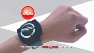 Bio Sensor Anti Snore Wristband - Best Snore Stopper