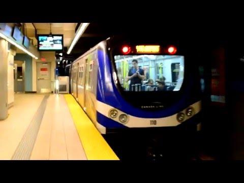 Vancouver Translink : Olympic Village SkyTrain Station [ Canada Line ]