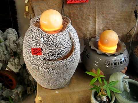 風水球~石頭釉~陶瓷流水滾球影片~[10公分球]~風水滾球~上華藝品~0958505913 - YouTube
