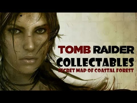 Tomb Raider Collectables: Coastal Forest Treasure Map Location - YouTube