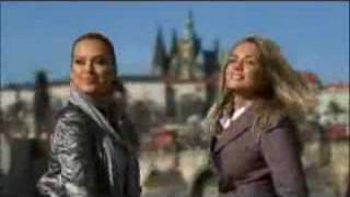 TRAPAS: Petra Nemcova and Tatiana Kucharova Prague promo spot