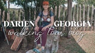 Darien Georgia Walking Tour Vlog