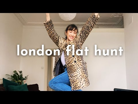 flat hunting In London 2021! flat tours, prices + renting tips