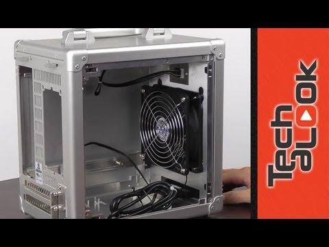 聯力 Lian-Li 電腦機殼 PC-TU100 Unboxing - YouTube