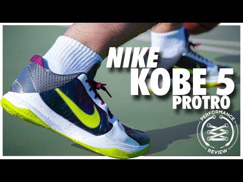 Nike Kobe 5 Protro Performance Review