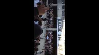 Tom C. Clark High school pep rally 2012