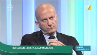 Omnibus - Passa il Jobs Act, si spacca il PD (Puntata 26/11/2014)
