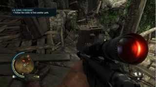Far Cry 3: Sniper Walkthrough - Lin Cong i Presume Gameplay (Sniping) PC [HD]