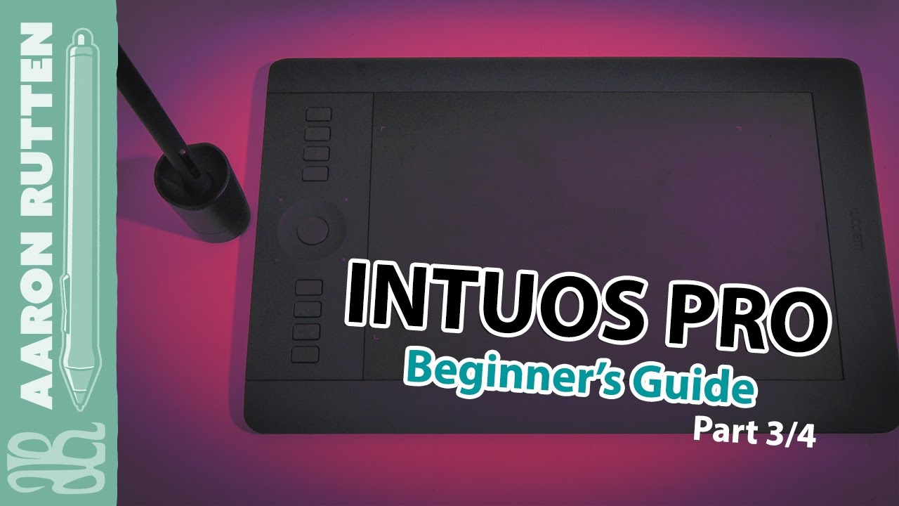 wacom intuos pro tutorial drawing demo part 3 4 youtube