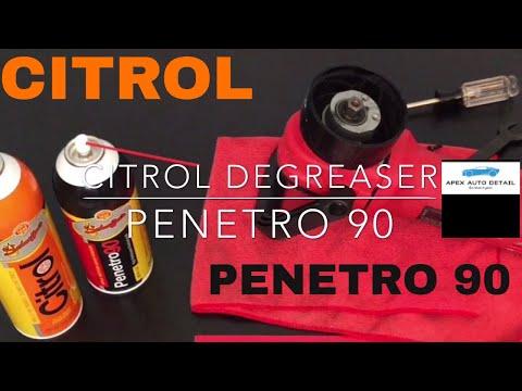 Citrol Degreaser and Penetro 90!! Schaeffer Manufacturing Co.