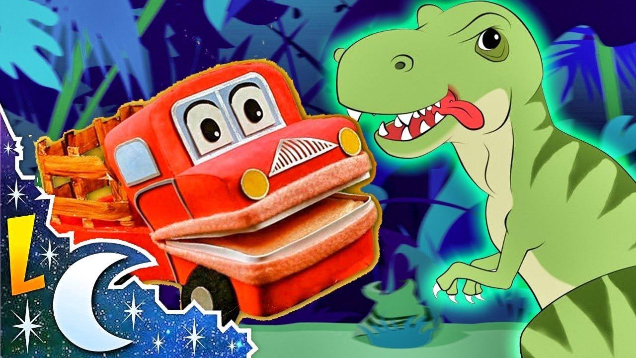 Los Dinosaurios Mas Famosos Para Niños Videos Educativos Barney El Camión Youtube