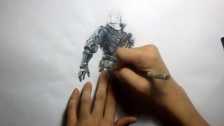 Destiny:  Warlock Drawing